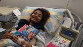 Schweizer DSDS-Hoffnung Tina Umbricht im Spital