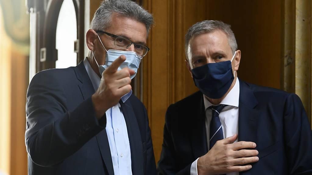 Nationalrat Schwander bekämpft Maskenpflicht vor Gericht