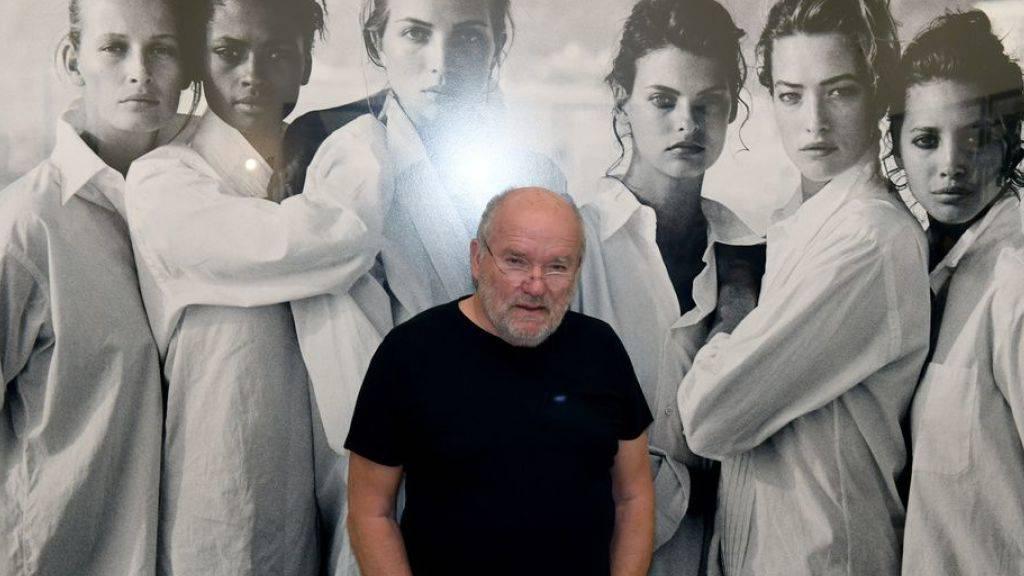 Der Fotograf Peter Lindbergh, hier 2017 in der Münchner Ausstellung «Peter Lindbergh - From fashion to reality», ist im September 2019 im Alter von 74 Jahren gestorben. (Archiv)