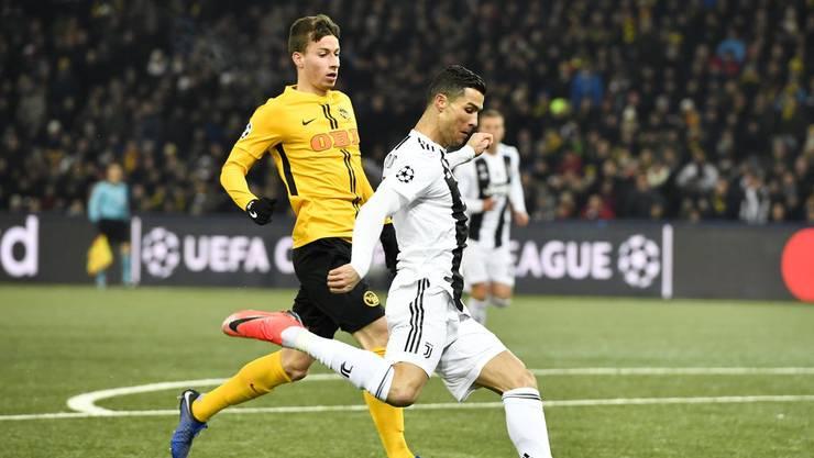 Gegen die Grossen haben die Schweizer Vereine keine Chance mehr. Das zeigte sich letztlich auch beim Spiel von Schweizer Meister YB gegen Juventus Turin.