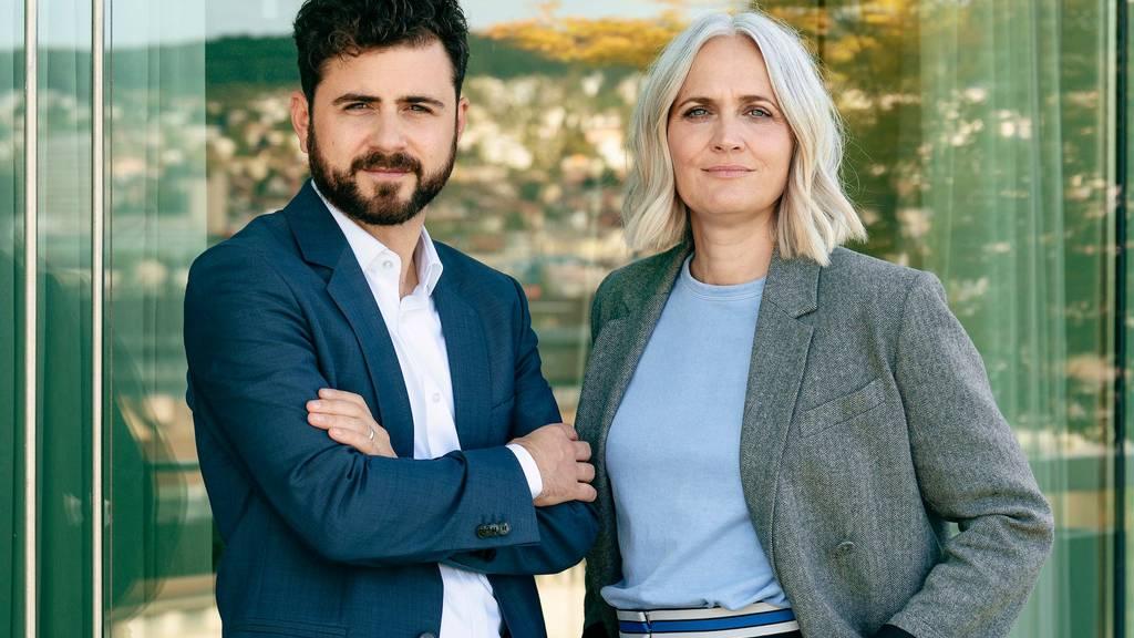Mario Stäuble und Priska Amstutz bilden ab 1. Juli die Co-Chefredaktion des «Tages-Anzeigers»