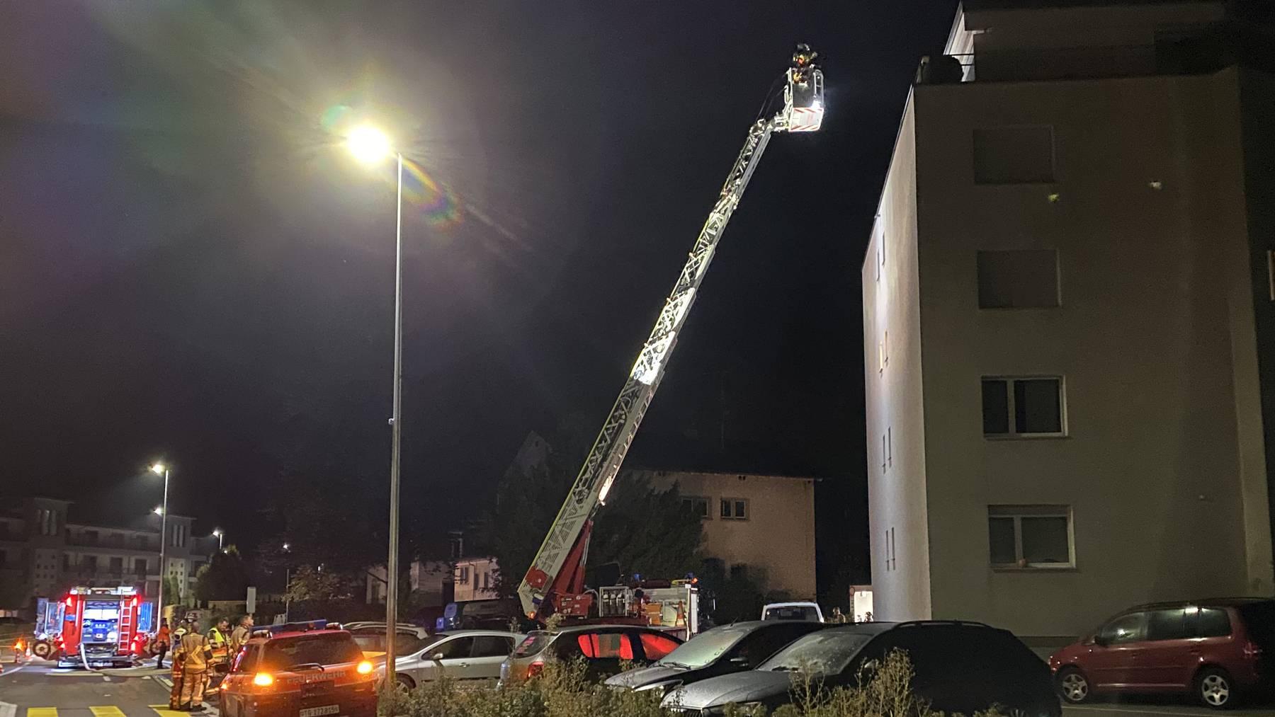 Die Feuerwehr musste zweimal zum selben Haus ausrücken.