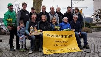 Die Marktfahrer und Organisatoren freuen sich auf viele Besucher auf dem Wochenmarkt, der am 18. März startet. Dominic Kobelt