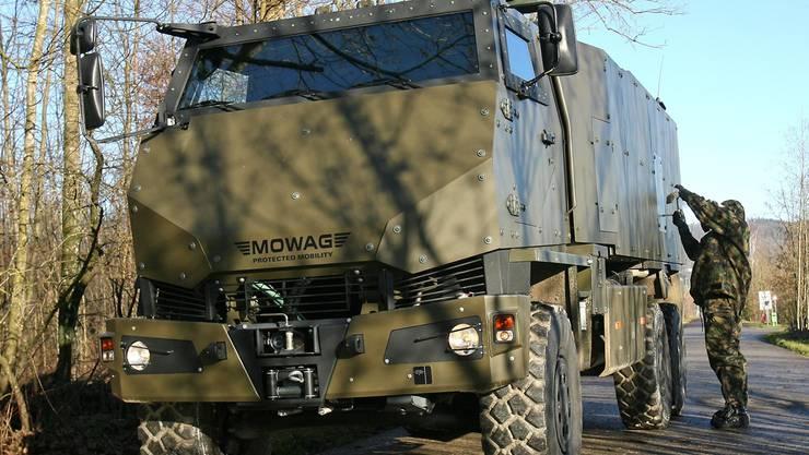 Bewilligt: Panzerwagen für Saudi-Arabien.keystone