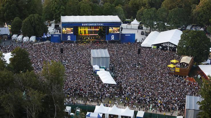 Das 36. Gurtenfestival zieht eine positive Bilanz: Bei schönem Wetter  besuchten jeweils Tausende Menschen die Konzerte auf dem Berner Hausberg.
