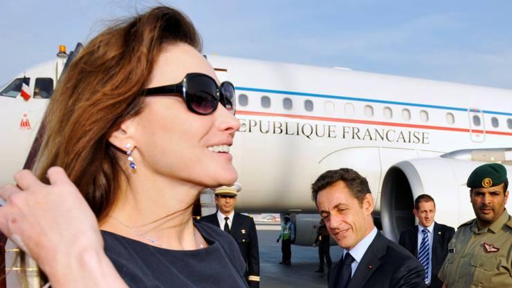 Carla Bruni (in Katar im November 2009) darf sich auch nach dem 11. April öffentlich mit Sonnenbrille zeigen. key