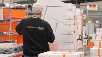 Der Umsatz des Online-Versandhändlers Zalando wächst weiter stark.