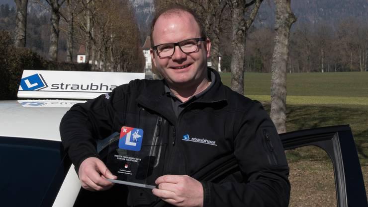 Fahrlehrer Patrick Straubhaar.