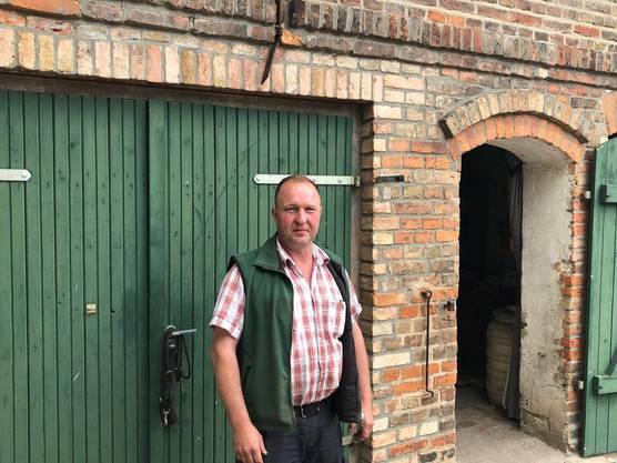 Jens Schreinecke ist Chef des Kreisbauernverbandes Potsdam-Mittelmark. Er sagt: «Hier gehören einfach einige Wolfsrudel abgeschossen.»