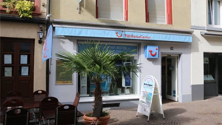 Im Bad Säckinger TUI Reisecenter bucht auch manch ein Fricktaler eine Pauschalreise.