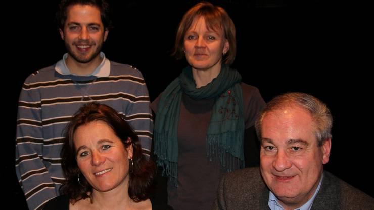 Krankheitshalber fehlt Urs Wirth aus Grenchen auf dem Bild, doch er steht am 7. April ebenso zur Disposition wie Franziska Roth (vorne links), Boris Banga, Yves Fankhauser und Heli Schaffter.  zvg