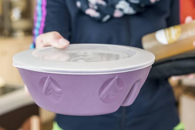 Das Geschirr der Gastrobetriebe soll mehrfach verwendet werden.