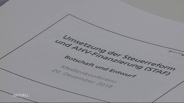 Solothurner Regierung will Steuersenkung