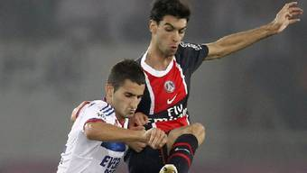 Javier Pastore (r.): Schütze zum 1:0 für PSG