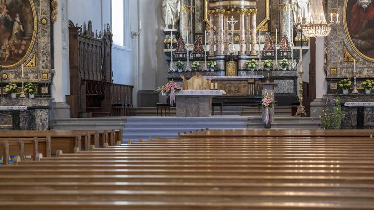 Auch in den Kirchen braucht es in der Coronapandemie Schutzkonzepte. (Symbolbild)
