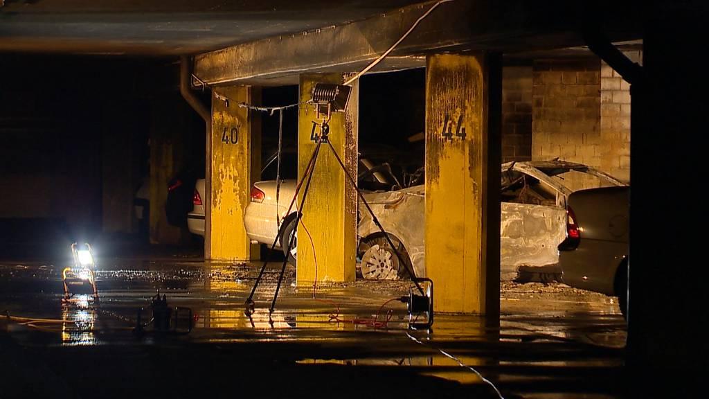 Adliswil: Brand in Tiefgarage – erheblicher Sachschaden