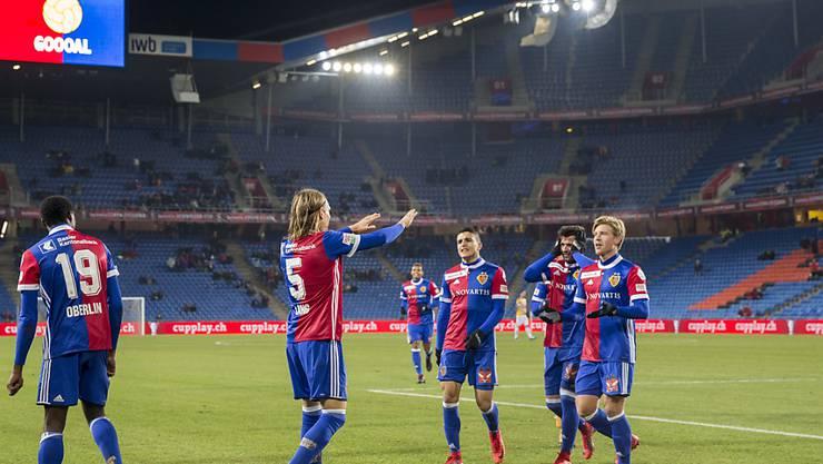 Michael Lang und Cup-Titelverteidiger Basel will im Halbfinal erneut jubeln