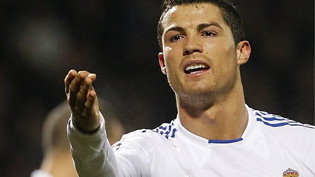 Der Oberschenkel Ronaldo Muss Drei Wochen Pausieren