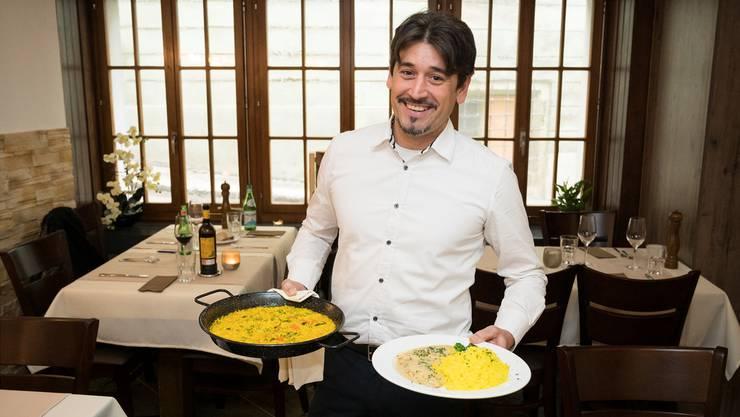 Der 42-jährige Madrider Jose Luis Fraile führt neu das Restaurant Don Jose am Blumengässchen 1 in Baden.