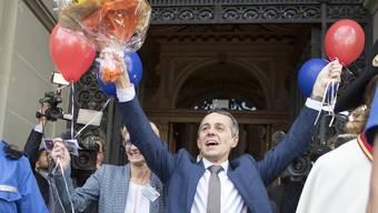Der frisch gewählte Ignazio Cassis.