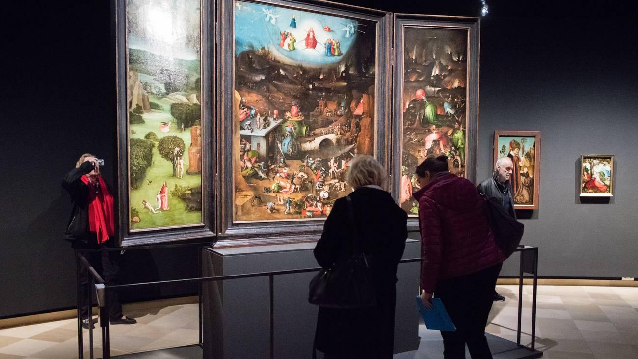 Das jüngste Gericht von Hieronymus Bosch