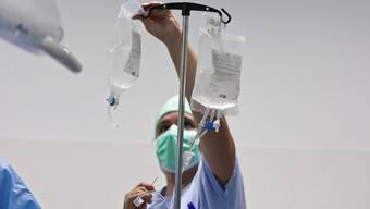 Eine Organ-Transplantation wird vorbereitet (Symbolbild)