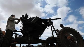 Libysche Rebellen sind im Vormarsch (Symbolbild)