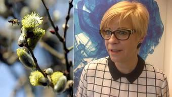 Was den Bienen eine Freude ist, wird für Heidi Egli in den Frühlingsmonaten zur Qual.