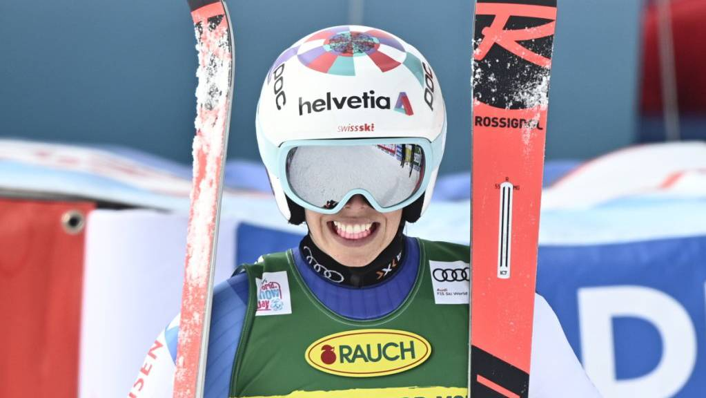 Michelle Gisin verpasste in Sölden als Vierte ihren ersten Podestplatz im Riesenslalom nur knapp.