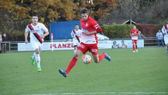 Luca Dimita zeigte sich im letzten Spiel gegen Seuzach in guter Form. Trifft der Stürmer gegen die Tessiner?