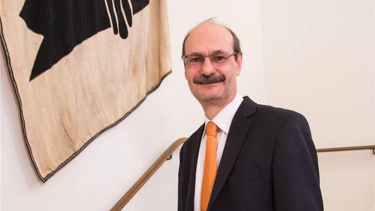 Stefan Wehrle, Präsident des Basler Bürgerrats.