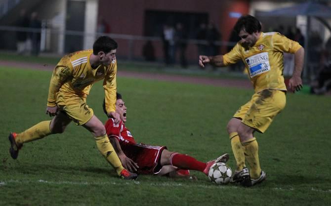 Avni Halimi, Skopljak (links) und Zeqiraj.