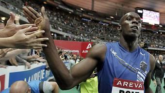 Usain Bolt liess auch in Monaco die Konkurrenz hinter sich