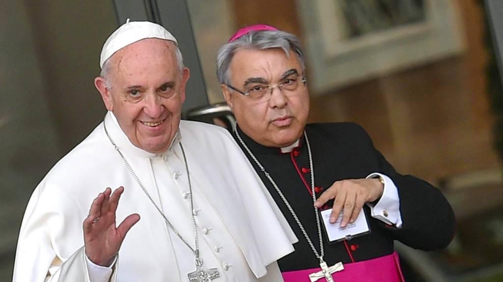 Papst ernennt neue Spitzenleute im Vatikan