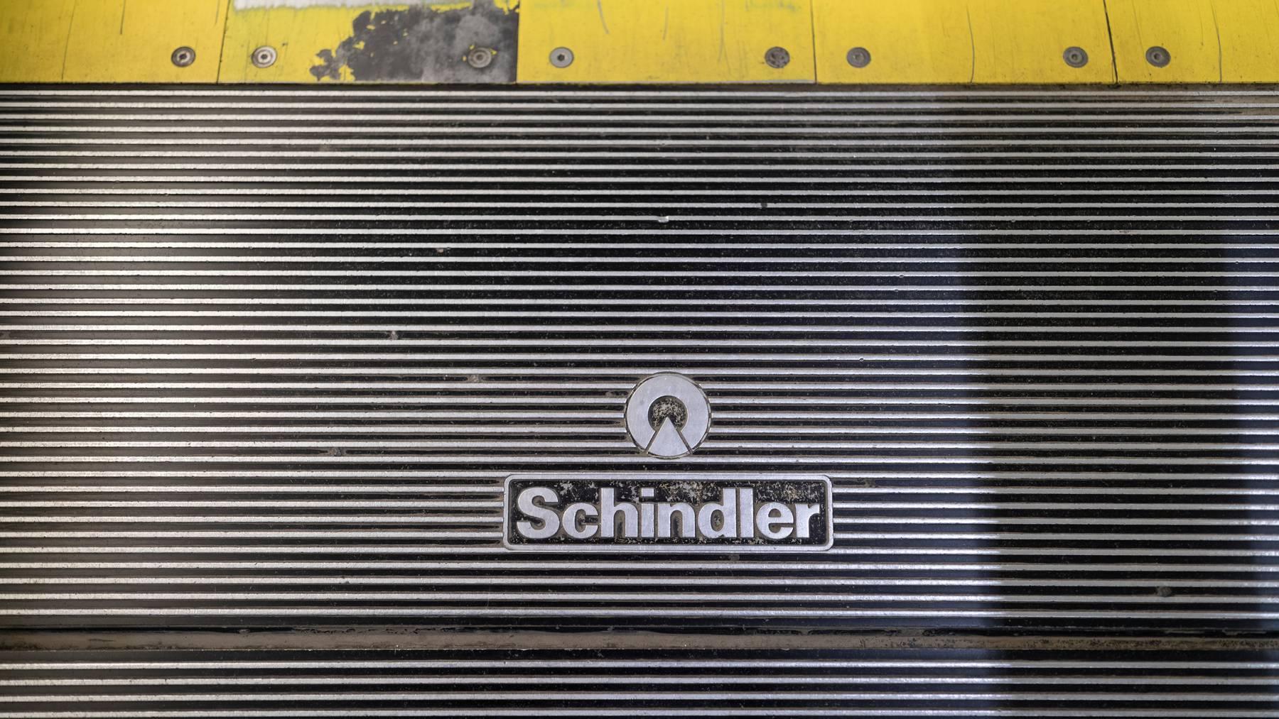 Schindler hat 2019 mehr Aufträge erhalten, aber dennoch weniger Gewinn gemacht.