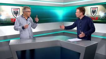 Ruedi Kuhn (links) und Sebastian Wendel über Viren, Geld und Gefühle.