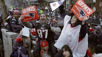 Begeisterter Empfang für die Super-Bowl-Helden in Bosten