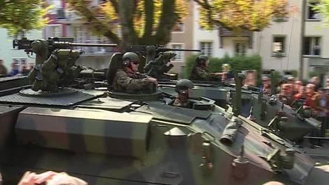 Oberwil-Lieli: Leichtsinniger Umgang mit Schützenpanzer?