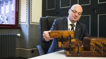 Im Nähkästchen der Schweiz am Wochenende befinden sich «Lösli» mit verschiedensten Begriffen. Remo Gallacchi hat «Ziele» herausgefischt.