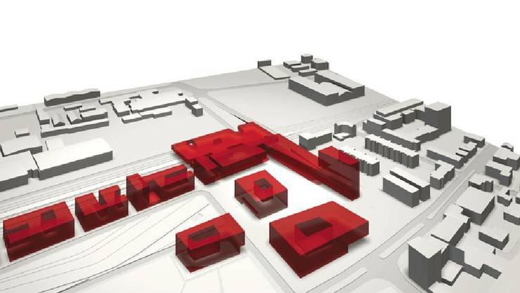 Einsprachen verzögern das Projekt: Aufwertung des Schlieremer Zentrums.