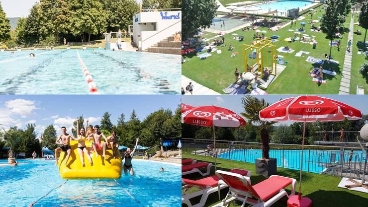Die Badesaison ist angelaufen: Auf welches Schwimmbad fällt ihre Wahl?