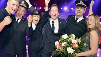 In diesem Outfit wird man die Heilsarmee-Band nicht am Eurovision Song Contest sehen