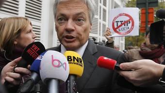 Belgiens Aussenminister Didier Reynders unterbricht die Verhandlungen mit den Vertretern mehrerer Regionen über das Freihandelsabkommen Ceta.