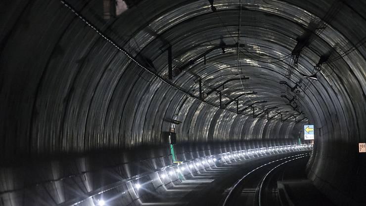 Am 1. Juni wird der neue Gotthard-Basistunnel eingesegnet und eröffnet - mit dabei ist nun auch ein protestantischer Geistlicher. (Archivbild)