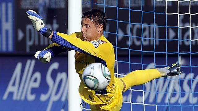 Beim Testspiel gegen Lausanne-Sport hatte Yann Sommer nur wenig zu tun. (Archivbild)