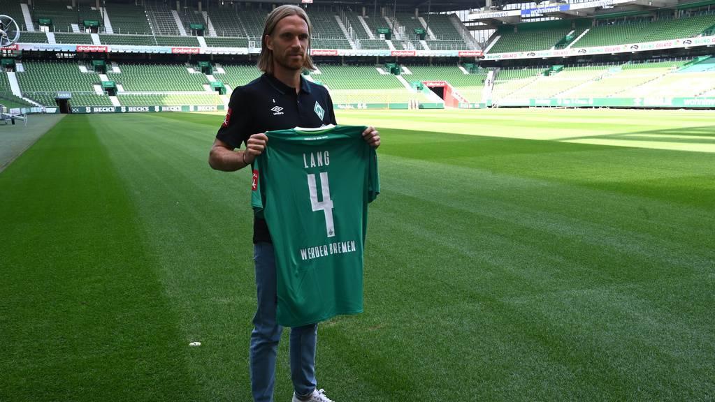 Michael Lang konnte bei Werder nicht Fuss fassen.