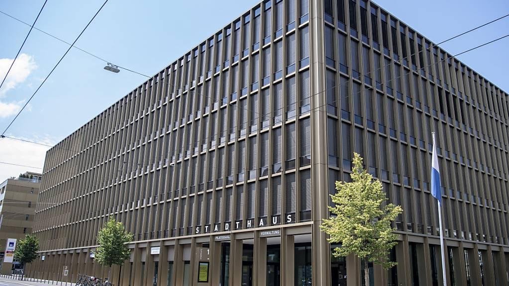 Das neue Stadthaus in Kriens LU ist Teil der Zentrumsüberbauung, bei der die Kosten aus dem Ruder gelaufen sind. (Archivaufnahme)