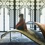 Im orientalischen Palast können Kinder Geschichten aus 1001 Nacht hören.