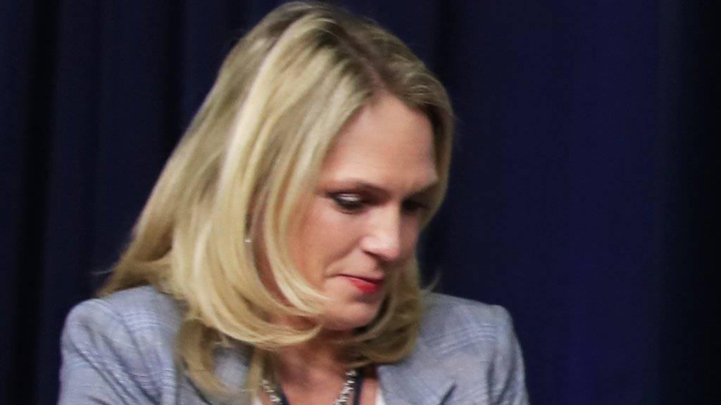 """""""Es macht nichts, er stirbt sowieso"""": Die ehemalige Trump-Mitarbeiterin Kelly Sadler äusserte sich bei einer Sitzung im Weissen Haus abfällig über den krebskranken Senator John McCain. (Archivbild)"""
