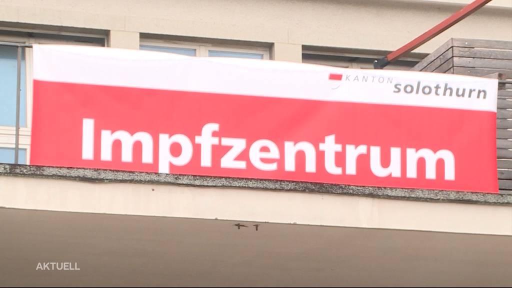 Impfstart: Erste Risikopatienten wurden im Kanton Solothurn gepikst